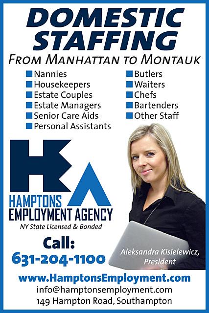 Aaa Hiring: Hamptons Employment Agency * 149 Hampton Road Southampton