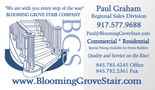 Blooming Grove Stairs